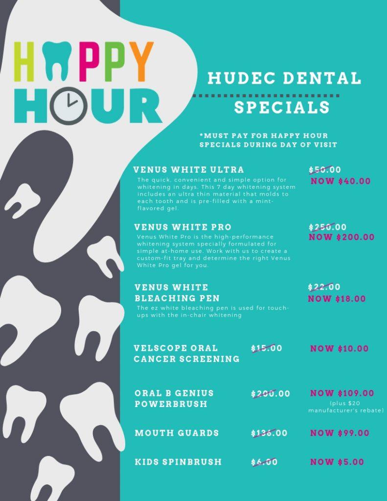 Dental Happy Hour Hudec Dental